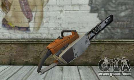 Chainsaw from L4D2 for GTA San Andreas second screenshot