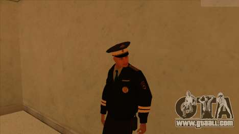 Skins police and army for GTA San Andreas tenth screenshot