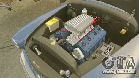 Mercury Lead Sled Custom 1949 for GTA 4 inner view