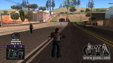 C-HUD Maket for GTA San Andreas