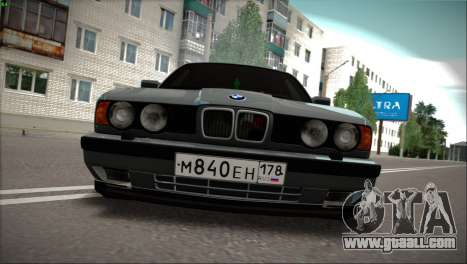 BMW 525i for GTA San Andreas left view