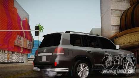 Toyota Land Cruiser 200 for GTA San Andreas wheels