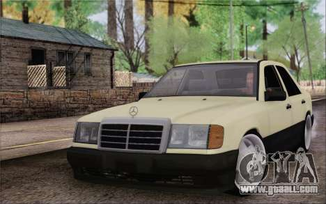 Mercedes-Benz W124 for GTA San Andreas