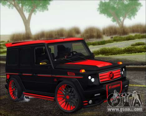 Mercedes-Benz G65 Hamann 2013 for GTA San Andreas