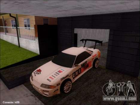 Nissan Skyline GTR R32 for GTA San Andreas