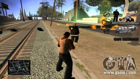 C-HUD Russian Mafia by Luigie for GTA San Andreas third screenshot