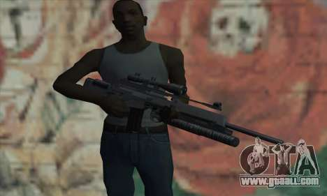 SG550 for GTA San Andreas third screenshot