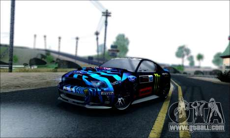 Ford Mustang GT 2013 v2 for GTA San Andreas side view