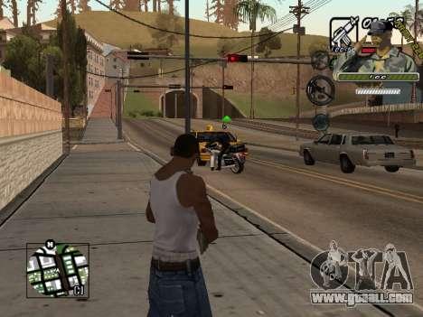 C-Hud Army by Enrique Rueda for GTA San Andreas second screenshot