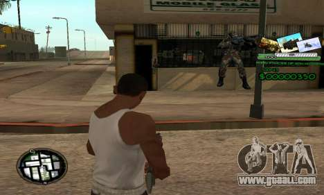 C-HUD Army Troops for GTA San Andreas
