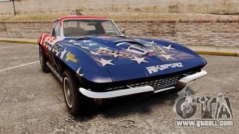Chevrolet Corvette C2 1967 for GTA 4