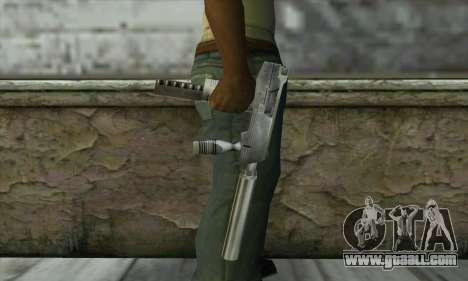 SMG из Counter Strike for GTA San Andreas third screenshot