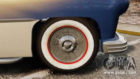 Mercury Lead Sled Custom 1949 for GTA 4 back view
