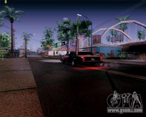 ENB HD CUDA 2014 v.3.5 Final for GTA San Andreas fifth screenshot