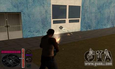 C-HUD by Andy Cardozo for GTA San Andreas third screenshot
