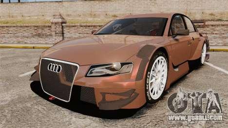 Audi A4 2008 Touring car for GTA 4