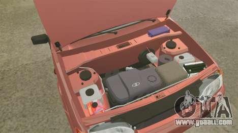 VAZ-2114 Samara-2 for GTA 4 inner view