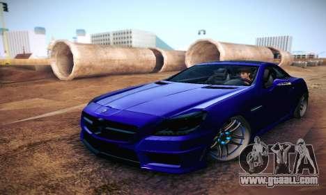 Mercedes Benz SLK55 AMG 2011 for GTA San Andreas