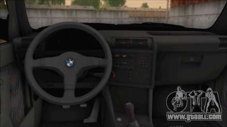 BMW M5 E30 for GTA San Andreas right view