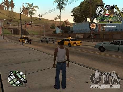 C-Hud Army by Enrique Rueda for GTA San Andreas