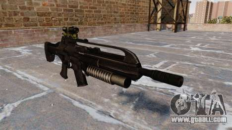 SCAR automatic rifle for GTA 4