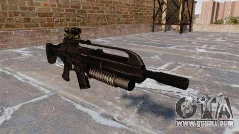 SCAR automatic rifle for GTA 4