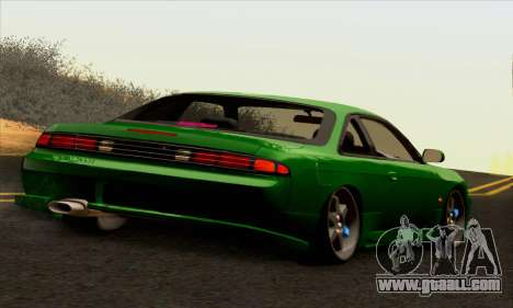 Nissan Silvia S14 Stance for GTA San Andreas left view