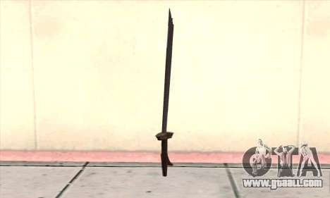 Sword for GTA San Andreas second screenshot