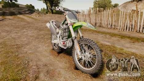 Kawasaki KX250F Monster Energy for GTA 4
