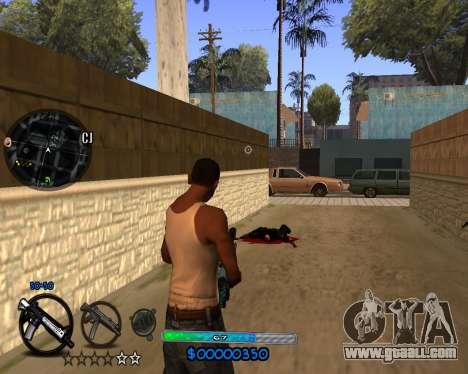 C-HUD by Vadya for GTA San Andreas third screenshot