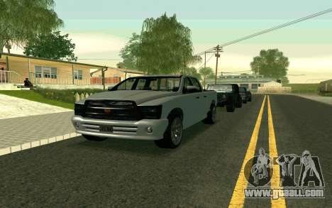 GTA V Bison Version 2 FIXED for GTA San Andreas left view