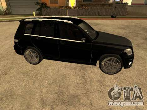 Mercedes-Benz GLK for GTA San Andreas left view