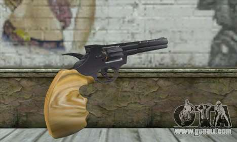 Black 44Magnum for GTA San Andreas second screenshot