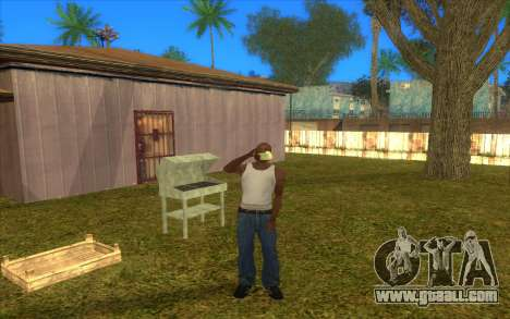 Barbecue for GTA San Andreas forth screenshot