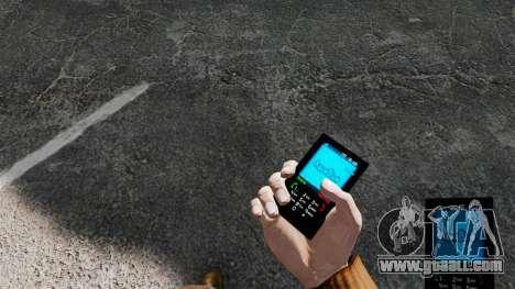 Aqua Blue theme for your phone for GTA 4