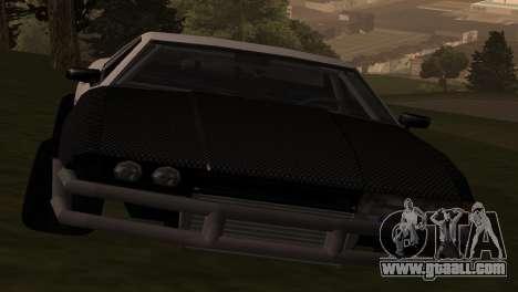 Elegy OriginalDrift for GTA San Andreas back left view