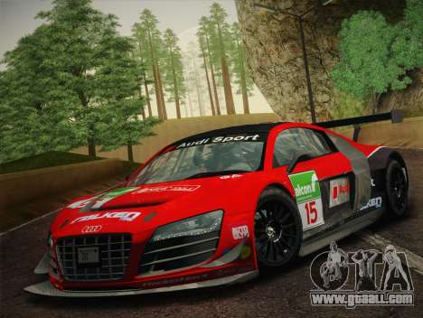 Audi R8 LMS Ultra Old Vinyls for GTA San Andreas engine