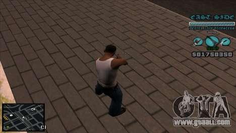 C-HUD Lane Gangsters for GTA San Andreas second screenshot