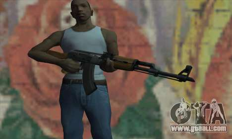 AK47 from L4D for GTA San Andreas third screenshot