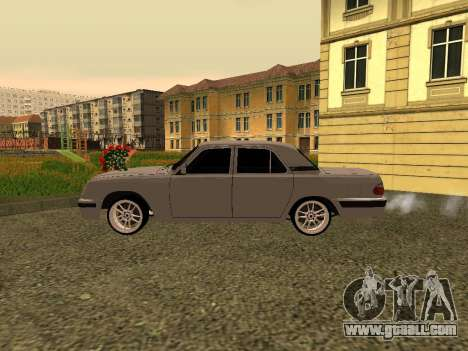 GAZ 31105 Volga for GTA San Andreas back left view