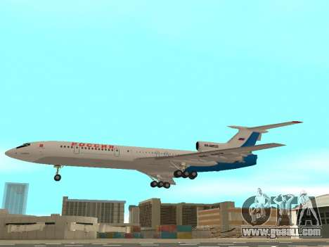 Tu-154 B-2 SCC of Russia for GTA San Andreas left view