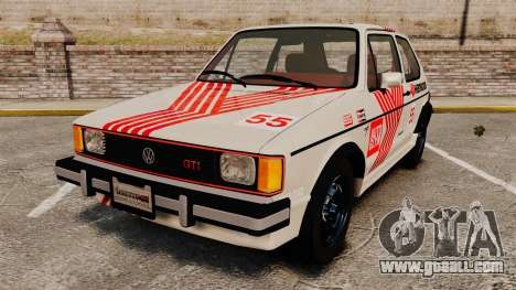 Volkswagen Rabbit GTI 1984 for GTA 4