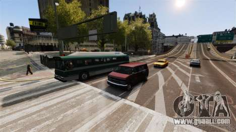 The real traffic for GTA 4 third screenshot
