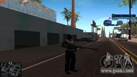 C-Hud Niko for GTA San Andreas