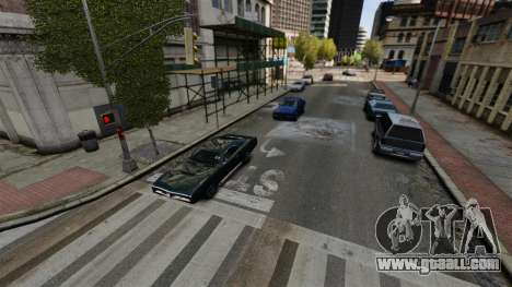 The real traffic for GTA 4 forth screenshot