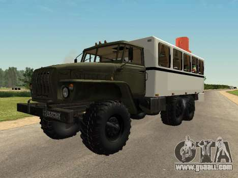 Ural 32551-0011 Watch for GTA San Andreas