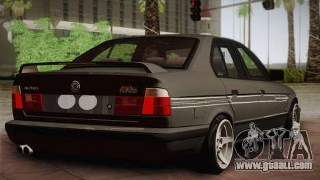 BMW E34 Alpina B10 for GTA San Andreas back left view