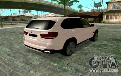 BMW X5 F15 for GTA San Andreas left view