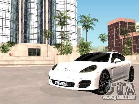 Porsche Panamera 2011 for GTA San Andreas