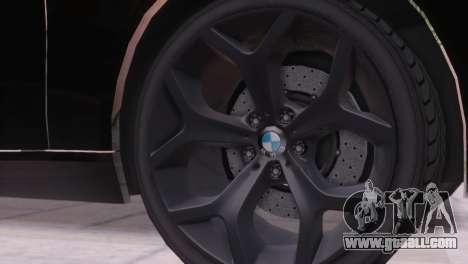 BMW 750Li E66 for GTA San Andreas upper view